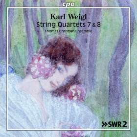 Karl Weigl (1881-1949): Streichquartette Vol.1, CD