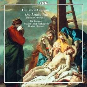 Christoph Graupner (1683-1760): Passions-Kantaten Vol.3, CD