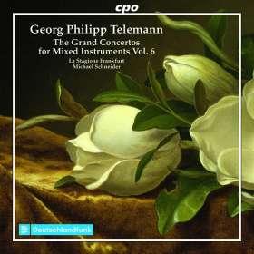 Georg Philipp Telemann (1681-1767): Konzerte für mehrere Instrumente & Orchester Vol.6, CD
