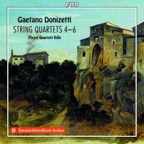 Gaetano Donizetti (1797-1848): Streichquartette Nr.4-6, CD