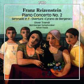 Franz Reizenstein (1911-1968): Klavierkonzert Nr.2 F-Dur, CD