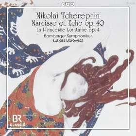 Nicolai Tscherepnin (1873-1945): Narcisse et Echo-Ballettmusik op.40, CD