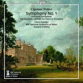Cipriani Potter (1792-1871): Symphonie Nr.1 g-moll, CD