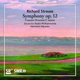 Richard Strauss (1864-1949): Symphonie f-moll op.12 (1884), CD