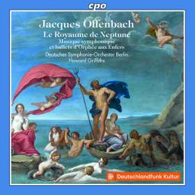 "Jacques Offenbach (1819-1880): Orchesterstücke aus ""Orphee aux Enfers"", CD"