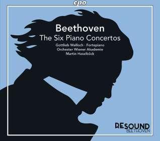 Ludwig van Beethoven (1770-1827): Sämtliche Klavierkonzerte, CD