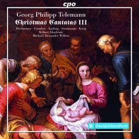 Georg Philipp Telemann (1681-1767): Weihnachtskantaten III, CD