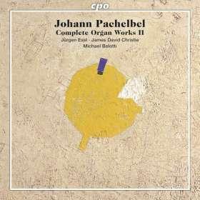 Johann Pachelbel (1653-1706): Sämtliche Orgelwerke Vol.2, SACD