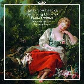 Ignaz von Beecke (1733-1803): Streichquartette Nr.1 C-Dur & Nr.12 G-Dur, CD