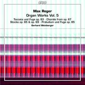 Max Reger (1873-1916): Orgelwerke Vol.5, 2 SACDs