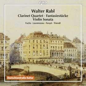 Walter Rabl (1873-1940): Kammermusik, CD