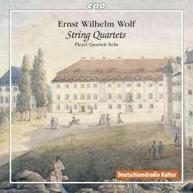 Ernst Wilhelm Wolf (1735-1792): Streichquartette, CD