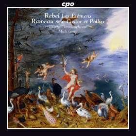 Jean-Fery Rebel (1666-1747): Les Elements, CD