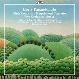 Boris Papandopulo (1906-1991): Cembalokonzert, CD