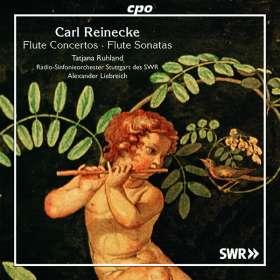 Carl Heinrich Reinecke (1824-1910): Flötenkonzert op.283, CD