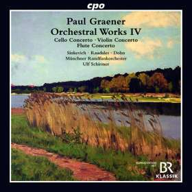 Paul Graener (1872-1944): Cellokonzert op. 78, CD