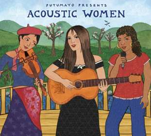 Acoustic Women, CD