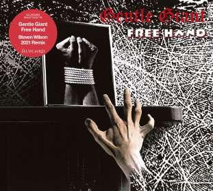 Gentle Giant: Free Hand (Steven Wilson 2021 Remix), CD