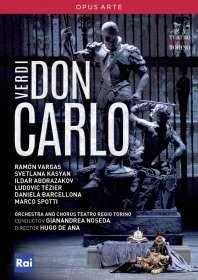 Giuseppe Verdi (1813-1901): Don Carlos, DVD