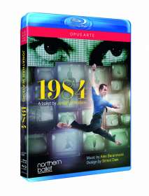 Northern Ballet: 1984, Blu-ray Disc