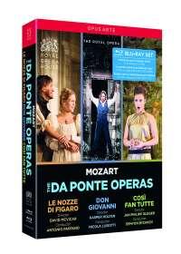 """Wolfgang Amadeus Mozart (1756-1791): Die """"Da Ponte-Opern"""" (Mitschnitte aus dem Royal Opera House Covent Garden), 4 Blu-ray Discs"""