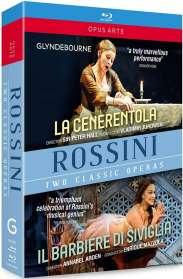 Gioacchino Rossini (1792-1868): Der Barbier von Sevilla, 2 Blu-ray Discs