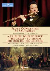 Emmanuel Pahud - Flötenkonzerte aus Sanssouci, DVD