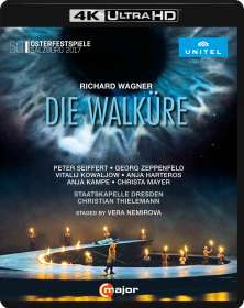 Richard Wagner (1813-1883): Die Walküre (4K Ultra HD), Blu-ray Disc