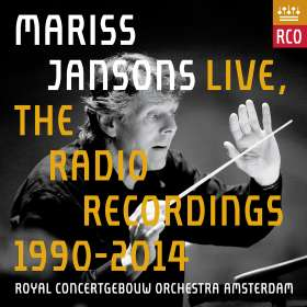 Mariss Jansons Live - The Radio Recordings 1990-2014, 13 CDs