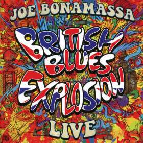 Joe Bonamassa: British Blues Explosion Live, 2 CDs