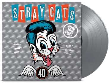 Stray Cats: 40 (180g) (Limited-Edition) (Silver Vinyl), LP