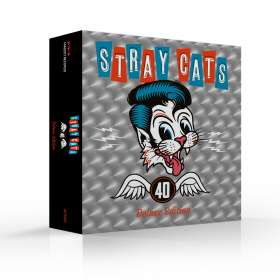 Stray Cats: 40 (Limited-Deluxe-Edition), CD