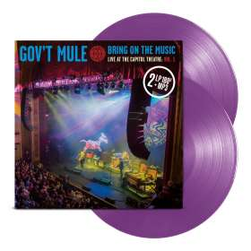 Gov't Mule: Bring On The Music - Live At The Capitol Theatre Vol.1 (180g) (Limited-Edition) (Purple Vinyl), 2 LPs