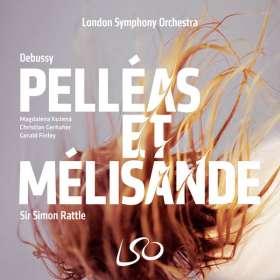 Claude Debussy (1862-1918): Pelleas und Melisande, 3 SACDs