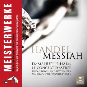 Georg Friedrich Händel (1685-1759): Der Messias, CD