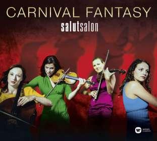 Salut Salon - Carnival Fantasy (Deluxe-Edition mit DVD), CD