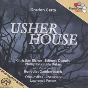 Gordon Getty (geb. 1933): Usher House, SACD