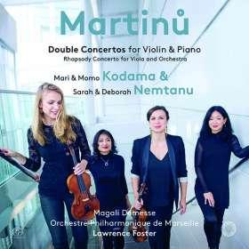 Bohuslav Martinu (1890-1959): Konzert für 2 Klaviere & Orchester, SACD