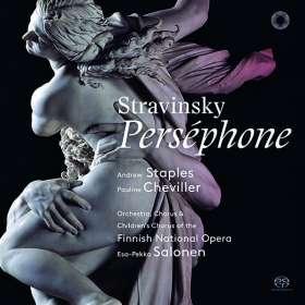 Igor Strawinsky (1882-1971): Persephone, SACD