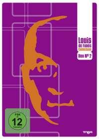 Louis de Funes Collection DVD Box 2, 4 DVDs