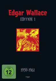 Edgar Wallace Edition 1, 4 DVDs