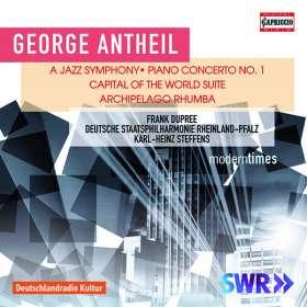 George Antheil (1900-1959): Jazz Symphony für 3 Klaviere & Orchester, CD
