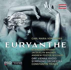 Carl Maria von Weber (1786-1826): Euryanthe, CD