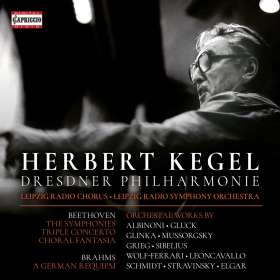 Herbert Kegel - Capriccio Edition, 8 CDs
