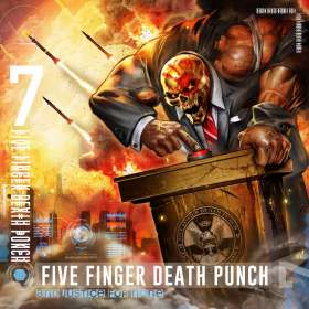 Five Finger Death Punch: And Justice For None, CD