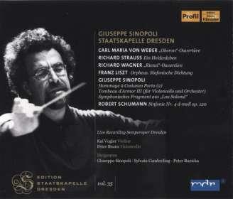 Giuseppe Sinopoli dirigiert die Staatskapelle Dresden, CD