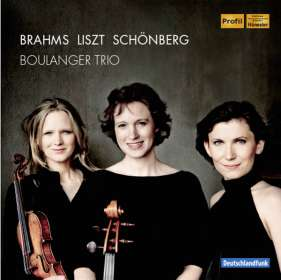 Boulanger Trio - Werke für Klaviertrio, CD