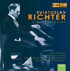 Svjatoslav Richter plays Beethoven, 12 CDs