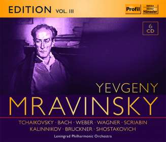 Yevgeni Mravinsky Edition Vol.3, 6 CDs