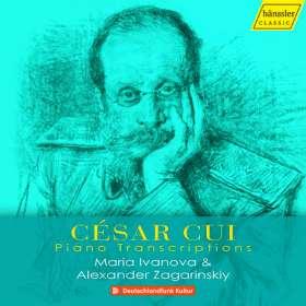 Cesar Cui (1835-1918): Klaviertranskriptionen, CD